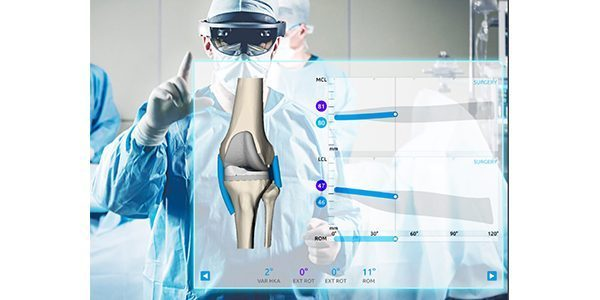 Medacta brings the 1st Augmented Reality system for Total Knee Replacements