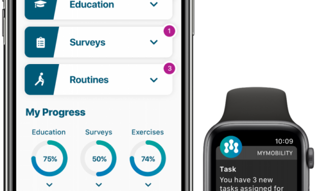 Mymobility is moving a step closer to predictive analytics and personalized care for total joint patients