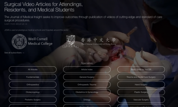 Sharing a unique peer-reviewed video journal for surgical videos and case reporting
