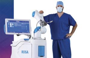 Zimmer Biomet Rosa robot-assisted surgery orthopedics ortho